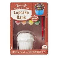 Melissa & Doug Decorate Your Own Cupcake Bank