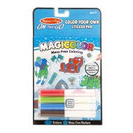 Melissa & Doug Magicolor Color Your Own Sticker Book Blue
