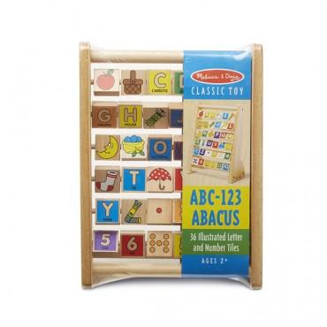 Melissa & Doug ABC123 Abacus 9273
