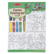 Melissa & Doug Canvas Painting Set Animals