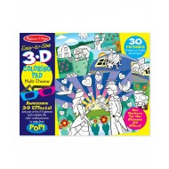 Melissa & Doug 3D Coloring Book Girl