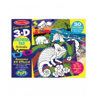 Melissa & Doug 3D Coloring Book Animals