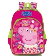 Peppa Pig With Tiara Trolley School Bag 16 inch
