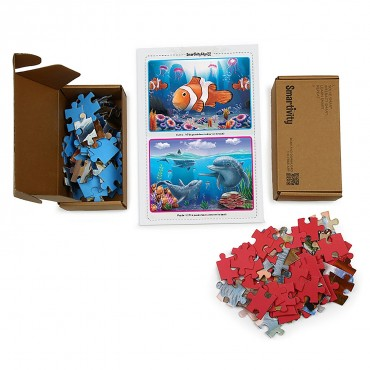 SmartivityEdge Aquatic Amigos Puzzle 60 Pieces