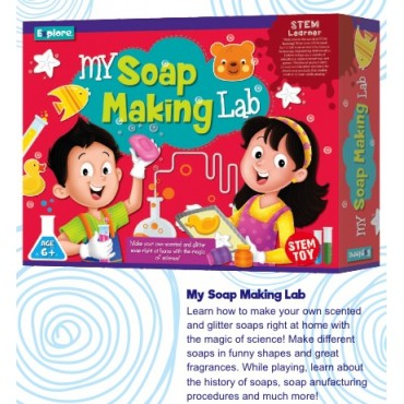 Explore My Soap Making Lab