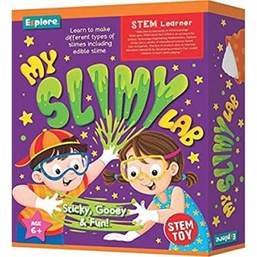 Explore My Slimy Lab