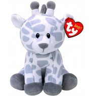 Jungly World Giraffe Soft Toy White Grey 15 cm