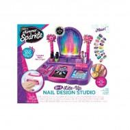 Shimmer n Sparkle Crazy Lights Super Nail Salon