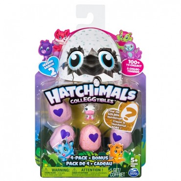 Hatchimals Colleggtibles 4pc