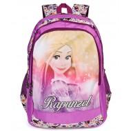 Rapunzel School Bag 19 Inch Purple