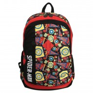 Spiderman Homecoming School Bag 19 Inch Black Red