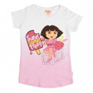 Dora White Pink T-Shirt DO1EGT2500
