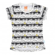 Minions Off White T-Shirt MI1EGT2565