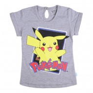 Pokemon Grey T-Shirt PK1EGT1965