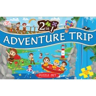 Art Factory 2 In 1 Adventure Trip Puzzle Set