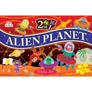 Art Factory 2 In 1 Alien Planet Puzzle Set