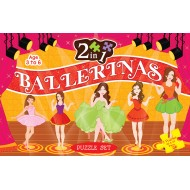 Art Factory 2 In 1 Ballerina Puzzle Set