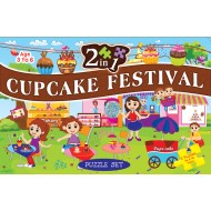Art Factory 2 In 1 CuPieceake Festival Puzzle Set