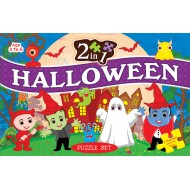 Art Factory 2 In 1 Halloween Puzzle Set