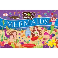 Art Factory 2 In 1 Mermaid Puzzle Set