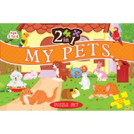 Art Factory 2 In 1 My Pets Puzzle Set