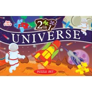 Art Factory 2 In 1 Universe Puzzle Set