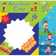 Art Factory Adventure Camp Story Puzzle 40 Piece