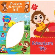 Art Factory Adventure Trip Activity Puzzle 96 Piece