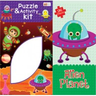 Art Factory Alien Planet Activity Puzzle 96 Piece
