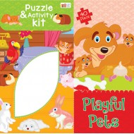 Art Factory Playful Pets Activity Puzzle 40 Piece