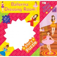 Art Factory Ballerina'S Deressing Room Story Puzzle 64 Piece