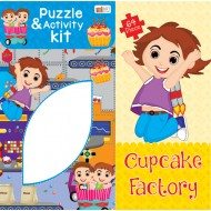Art Factory CuPieceake Factory Activity Puzzle 64 Piece