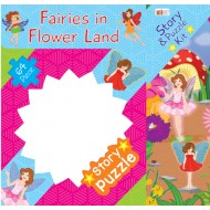 Art Factory Fairies In Flower Land Story Puzzle 64 Piece