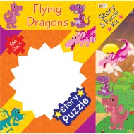 Art Factory Flying Dragons Story Puzzle 96 Piece