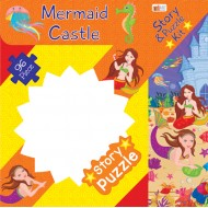 Art Factory Mermaid Castle Story Puzzle 96 Piece