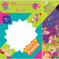 Art Factory Mermaid Land Story Puzzle 96 Piece