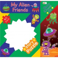Art Factory My Alien Friends Story Puzzle 40 Piece