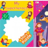 Art Factory My Superheroes Story Puzzle 64 Piece