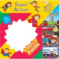Art Factory Super Action Story Puzzle 96 Piece