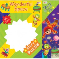 Art Factory Wonderful Space Story Puzzle 96 Piece