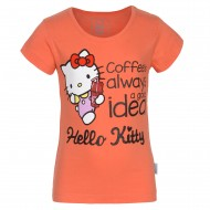 Hello Kitty Coral Red T-Shirt HTOFGT1559