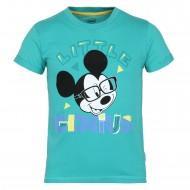 Mickey & Friends Aqua Green T-Shirt MF0FBT1698