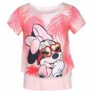 Mickey & Friends Rose Pink T-Shirt MF0FGT1016