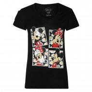 Mickey & Friends Black T-Shirt MF0FGT1020