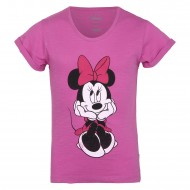 Mickey & Friends Deep Pink T-Shirt MF0FGT1283