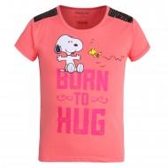 Peanuts Rose Pink T-Shirt PN1EGT2632