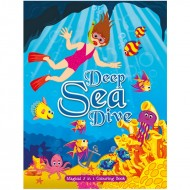 Art Factory Magical 5 In 1 Colouring Bookdeep Sea Dive