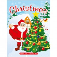 Art Factory Magical 5 In 1 Colouring Bookchristmas