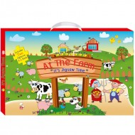 Art Factory My Big Box Of Puzzle And Book Funat The Farm