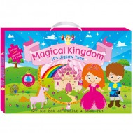 Art Factory My Big Box Of Puzzle And Book Funmagical Kingdom